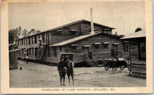 Camp Gordon barracks